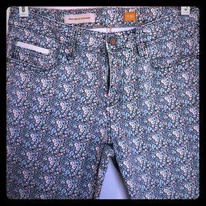 Pilcro and the Letterpress floral pants 🌸